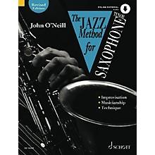 Schott The Jazz Method for Tenor Saxophone Schott Series Book with CD