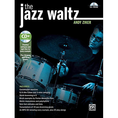 Alfred The Jazz Waltz by Andy Ziker Drum Book & CD