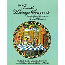 Tara Publications The Jewish Heritage Songbook Tara Books Series Softcover with CD
