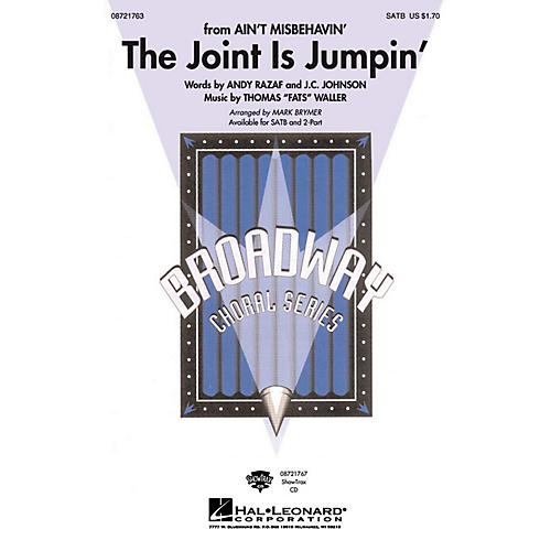 Hal Leonard The Joint Is Jumpin' 2-Part Arranged by Mark Brymer