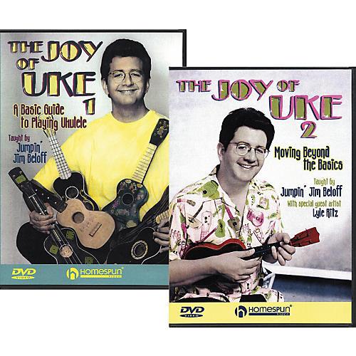 Homespun The Joy of Uke - Volume 1 and 2 (DVD)
