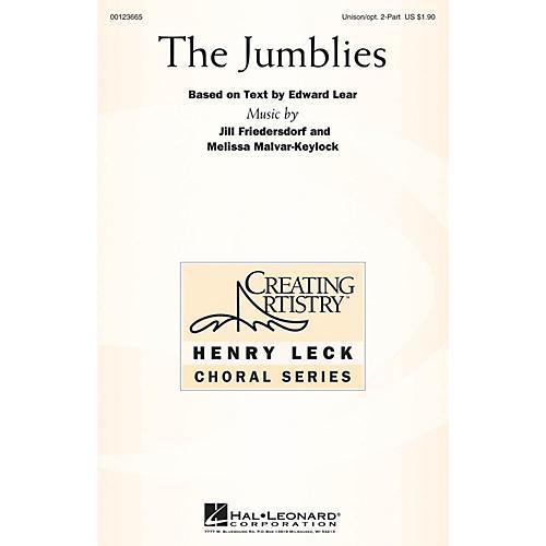 Hal Leonard The Jumblies UNIS/2PT composed by Melissa Malvar-Keylock
