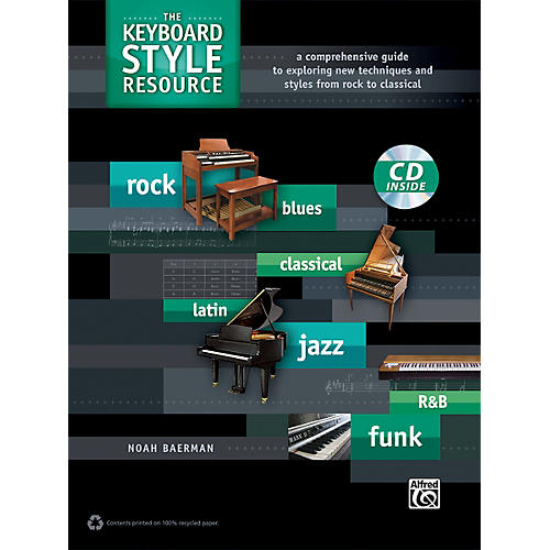 Alfred The Keyboard Style Resource Book & CD