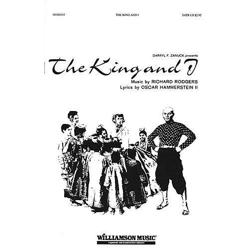 Hal Leonard The King and I (Choral Selections) SATB arranged by Clay Warnick