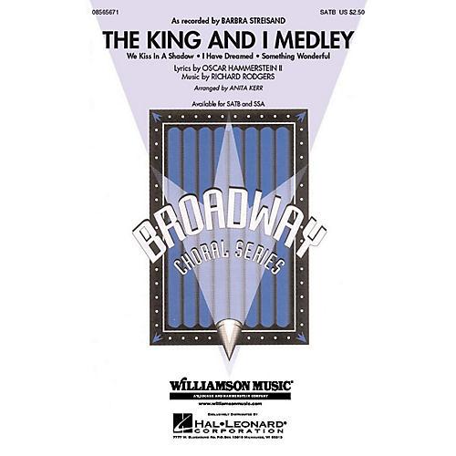 Hal Leonard The King and I (Medley) SATB arranged by Anita Kerr