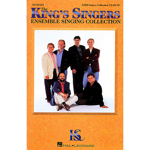 Hal Leonard The King's Singers Ensemble Singing Collection SATB by The King's Singers