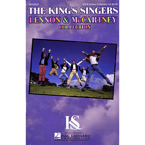 Hal Leonard The King's Singers Lennon & McCartney Collection SATB a cappella by The King's Singers