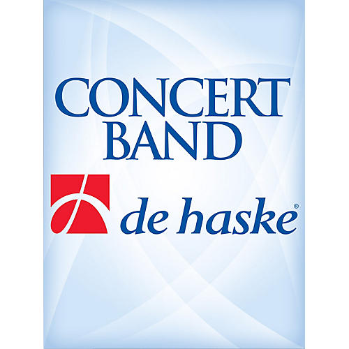 De Haske Music The Kiss (Score Only) Concert Band Level 4 Arranged by Wil Van der Beek