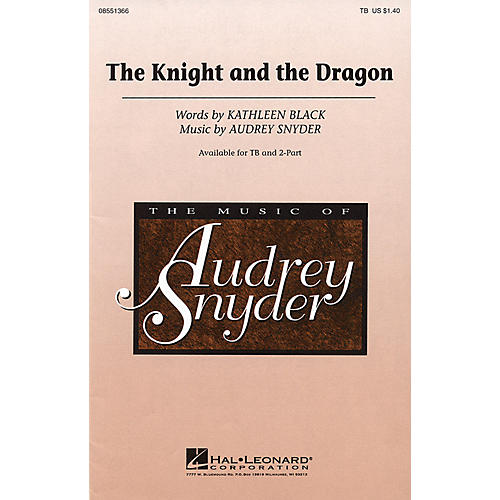 Hal Leonard The Knight and the Dragon TB composed by Audrey Snyder