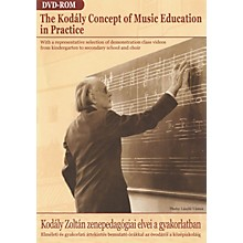 Editio Musica Budapest The Kodaly Concept of Music Education in Practice (DVD-ROM) EMB Series DVD by Zoltan Kodaly
