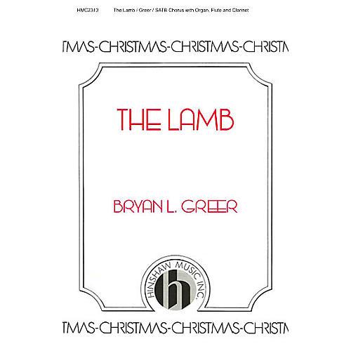 Hinshaw Music The Lamb SATB
