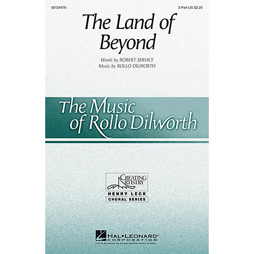 Hal Leonard The Land of Beyond 3 Part Treble composed by Rollo Dilworth