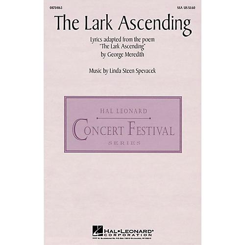 Hal Leonard The Lark Ascending SSA composed by Linda Spevacek