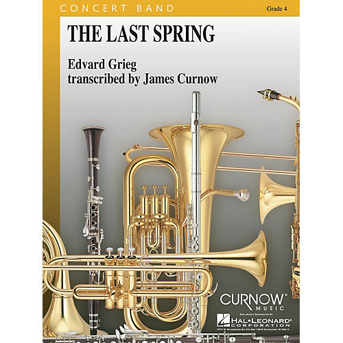 Curnow Music The Last Spring (Grade 4 - Score and Parts) Concert Band Level 4 Arranged by James Curnow