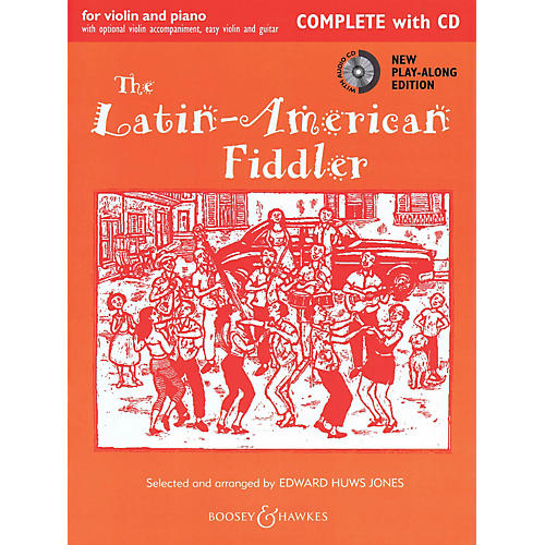 Boosey and Hawkes The Latin-American Fiddler Fiddle Series Softcover with CD