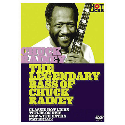 Music Sales The Legendary Bass of Chuck Rainey Music Sales America Series DVD Performed by Chuck Rainey