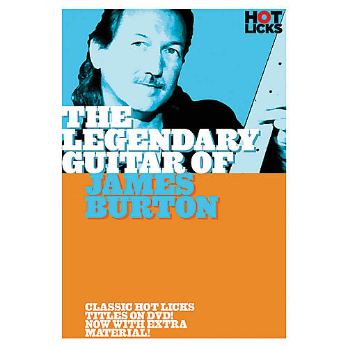Music Sales The Legendary Guitar of James Burton Music Sales America Series DVD Performed by James Burton