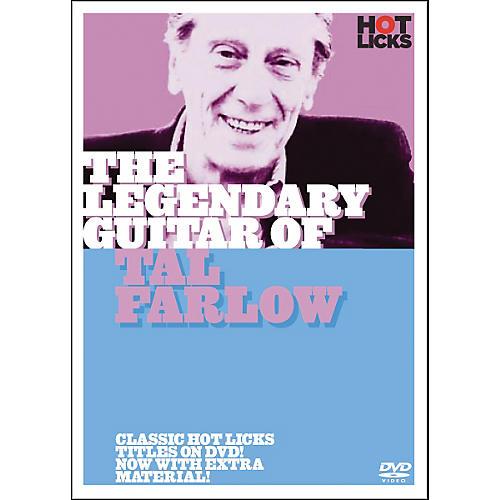 Hot Licks The Legendary Guitar of Tal Farlow DVD