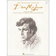 Hal Leonard The Legendary Songs of Don McLean (Piano, Vocal, and Guitar Songbook)