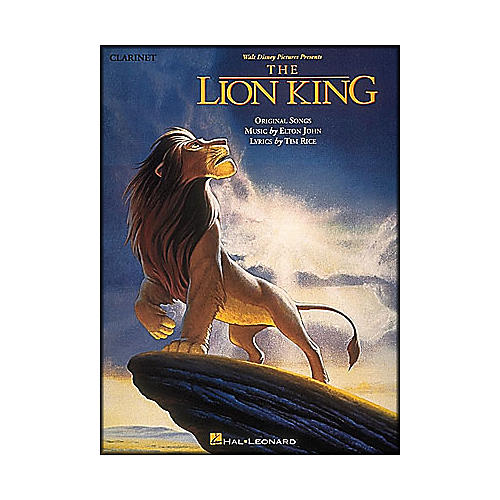 Hal Leonard The Lion King for Clarinet