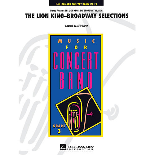 Hal Leonard The Lion King-the Musical Full Score Concert Band