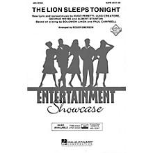 Hal Leonard The Lion Sleeps Tonight TTBB Arranged by Roger Emerson