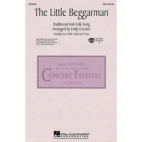 Hal Leonard The Little Beggarman SAB Arranged by Emily Crocker