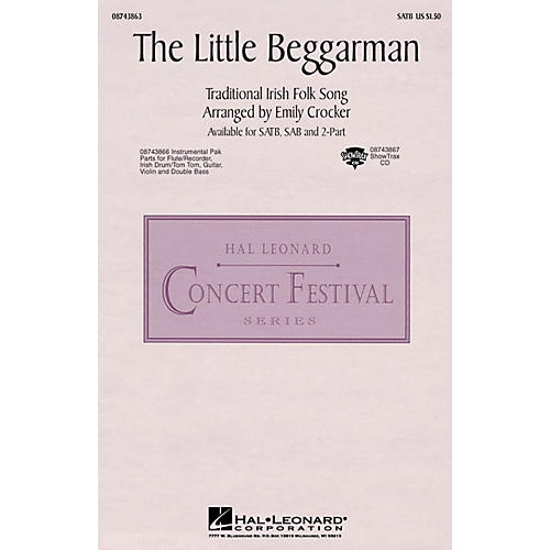 Hal Leonard The Little Beggarman SATB arranged by Emily Crocker