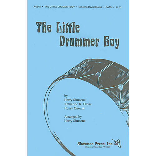 Shawnee Press The Little Drummer Boy SAB Arranged by Harry Simeone