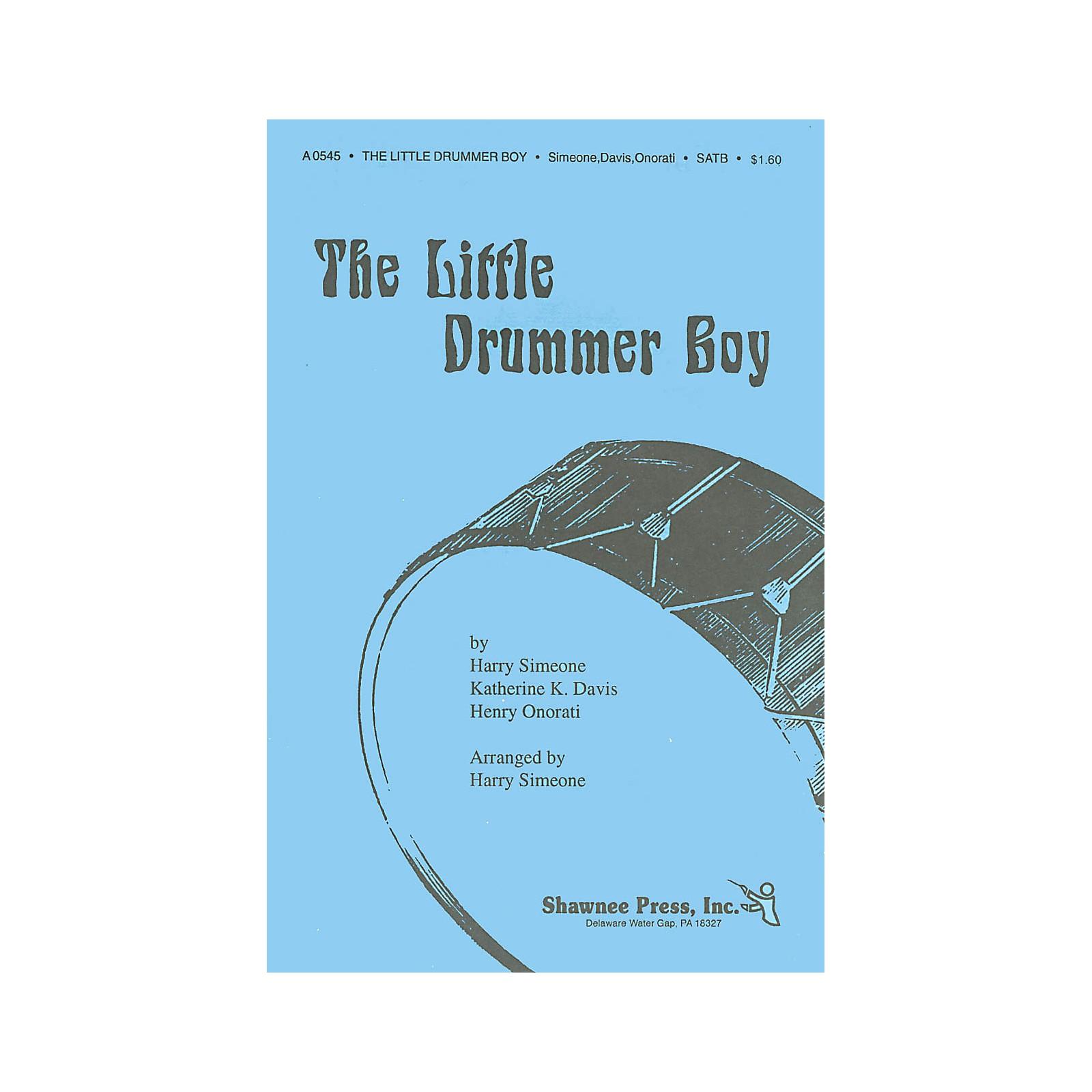Shawnee Press The Little Drummer Boy TTBB Arranged by Harry Simeone
