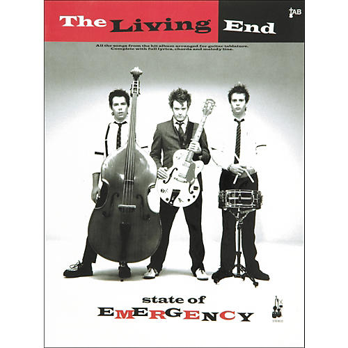 Music Sales The Living End State Of Emergency Guitar Tab Songbook