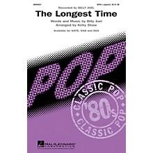 Hal Leonard The Longest Time SSA A Cappella by Billy Joel Arranged by Kirby Shaw