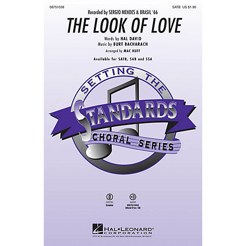 Hal Leonard The Look of Love ShowTrax CD by Sergio Mendes & Brasil '66 Arranged by Mac Huff