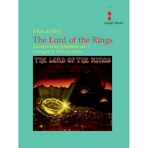 Amstel Music The Lord of the Rings (Excerpts from Symphony No. 1) - Concert Band Concert Band by Paul Lavender