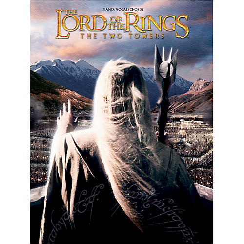 Alfred The Lord of the Rings The Two Towers Piano/Vocal/Chords