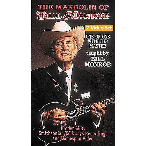 Hal Leonard The Mandolin of Bill Monroe - 2-Video Set
