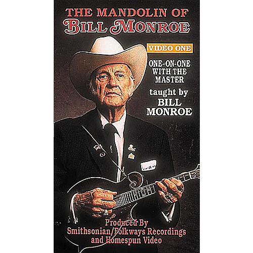 Homespun The Mandolin of Bill Monroe 1: One-On-One with the Master (VHS)