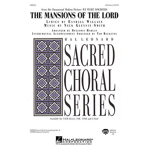 Hal Leonard The Mansions of the Lord (from We Were Soldiers) ShowTrax CD Arranged by Benjamin Harlan