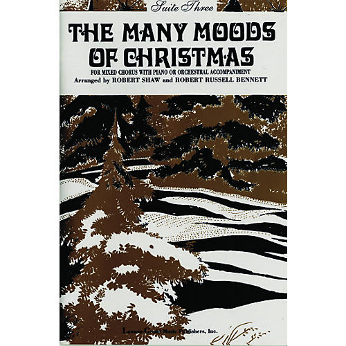 Alfred The Many Moods of Christmas Suite 3 SATB
