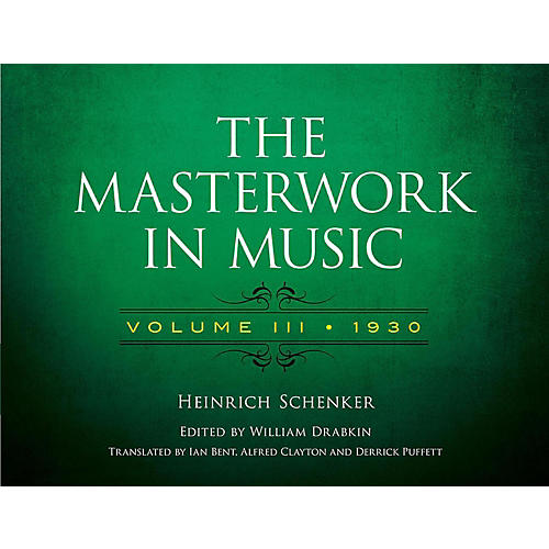 Alfred The Masterwork in Music, Volume III 1930 - Volume III 1930