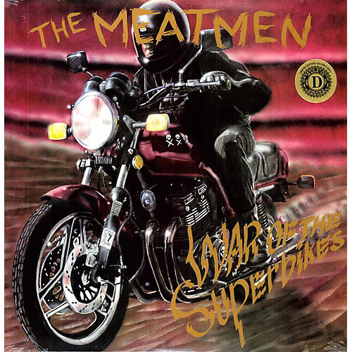 Alliance The Meatmen - War Of The Superbikes [Clear Vinyl] [Limited Edition]
