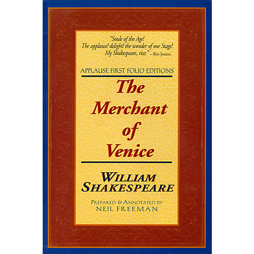 Applause Books The Merchant of Venice Applause Books Series Softcover Written by William Shakespeare
