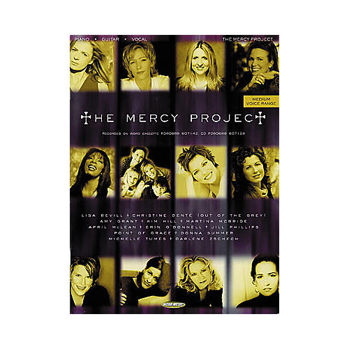 Word Music The Mercy Project Piano/Vocal/Guitar Songbook
