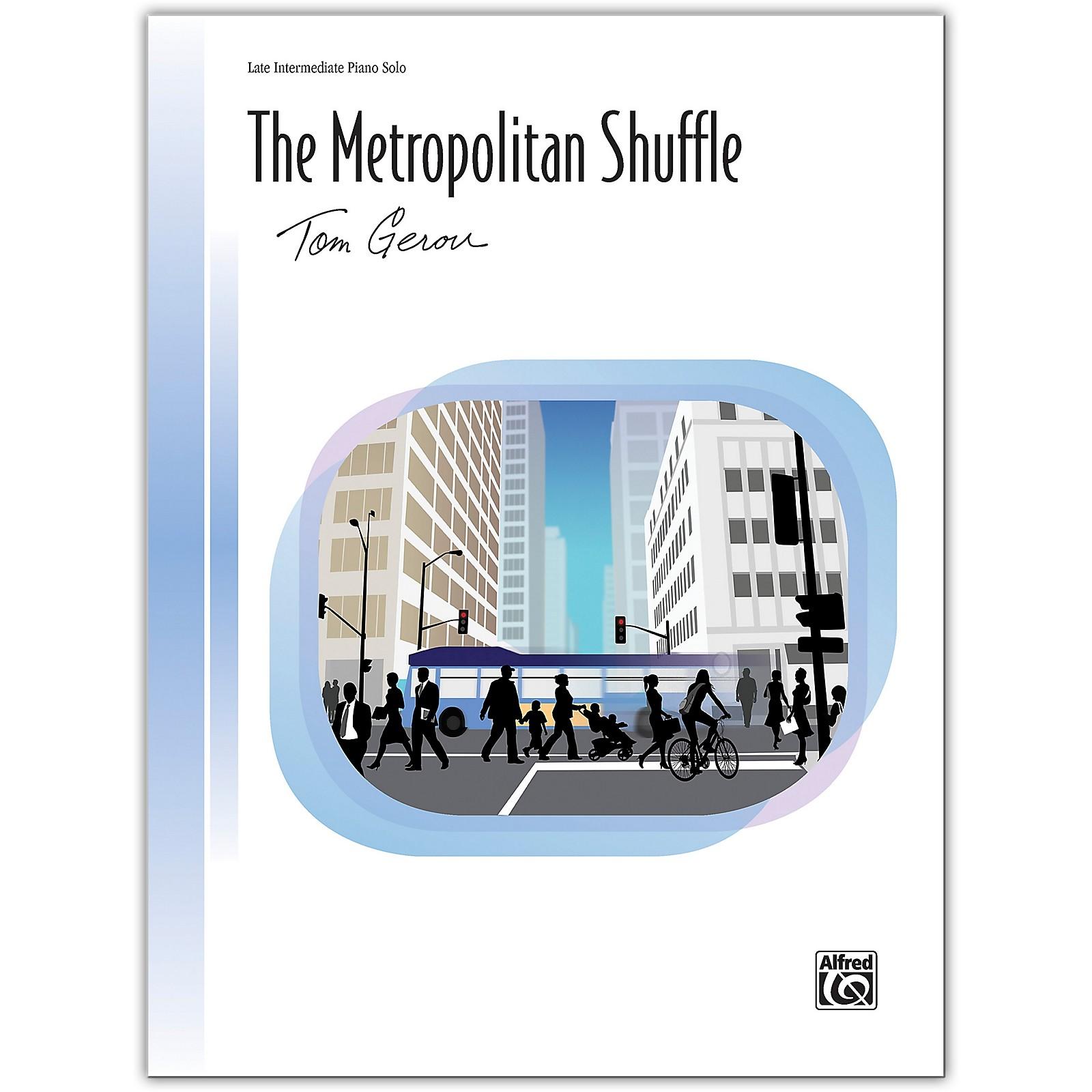 Alfred The Metropolitan Shuffle Late Intermediate