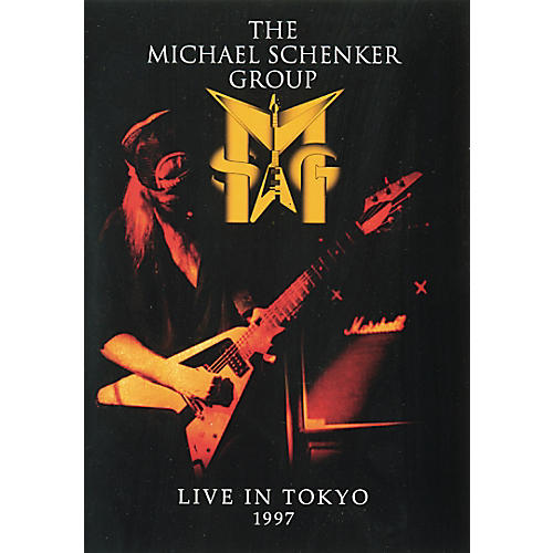 Music Sales The Michael Schenker Group - Live in Tokyo '97 DVD