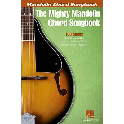 Hal Leonard The Mighty Mandolin Chord Songbook