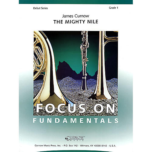 Curnow Music The Mighty Nile (Grade 1 - Score Only) Concert Band Level 1 Composed by James Curnow