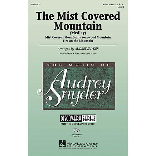 Hal Leonard The Mist Covered Mountain (Medley) 3-Part Mixed arranged by Audrey Snyder