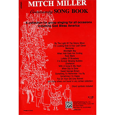 Alfred The Mitch Miller Community Songbook