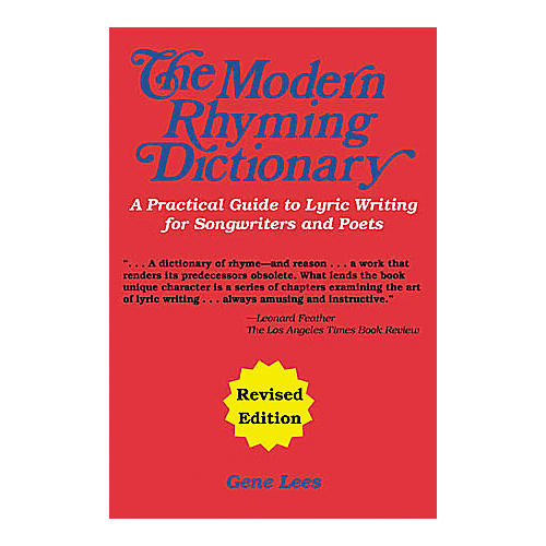 Cherry Lane The Modern Rhyming Dictionary - Revised Edition Book